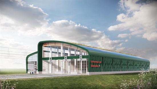 NCC bygger spårvagnsdepå i Lund.
