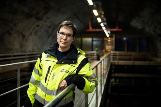 Linda Åmand, produktionschef Käppalaförbundet.