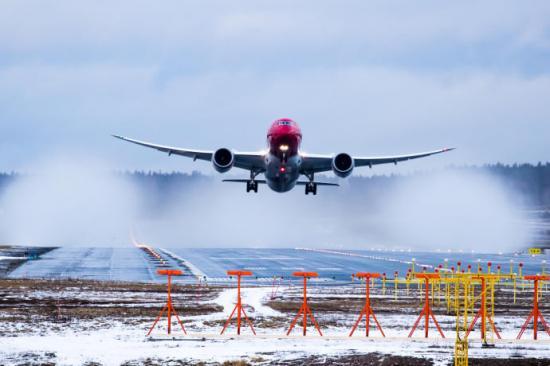 Norwegian Boeing 787 Dreamliner.