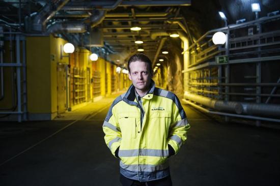 Andreas Thunberg, VD Käppalaförbundet.
