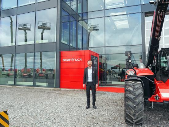 """Business Manager Anker B. Lemvig är redo att bjuda välkommen på """"Maskinmässa Rosersberg"""" fredag den 24 och lördag den 25 maj."""