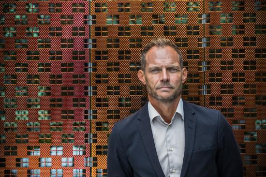 Lars Backström, vd, Västtrafik.