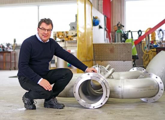 Fredrik Jonsson, ny VD för Nordiska VA-Teknik AB.