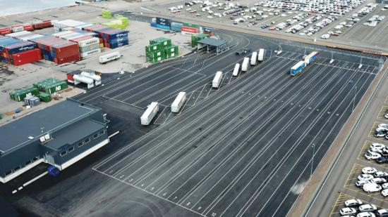 Energisystems armaturer ska lysa upp i Halmstad hamn.
