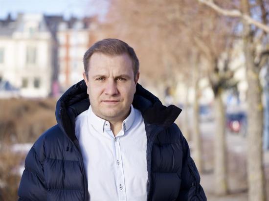 Henrik Sjögren, trafikskadespecialist.