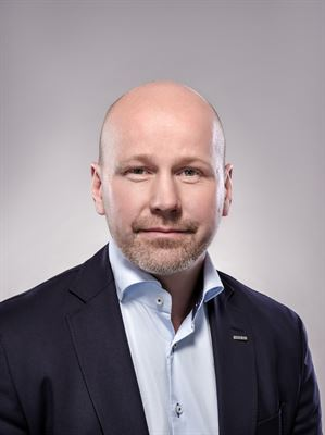 Jörgen Eriksson, regionchef på Peab.