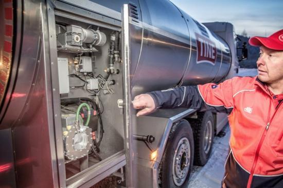 Teknikbolaget Semcon har utvecklat ett elektriskt system för mjölkpumpen.