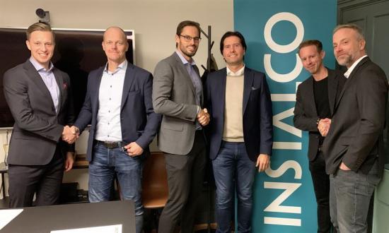 Gustaf Larsson Ernefelt, Mikael Steiland, Robin Boheman, Tomas Persson, Fredrik Fûrst och Klas Larsson.
