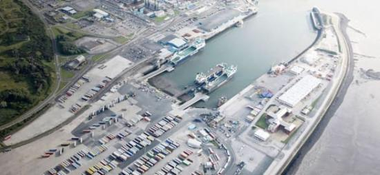 Heysham är den första brittiska terminalen som Hogia levererar terminalsystem till.