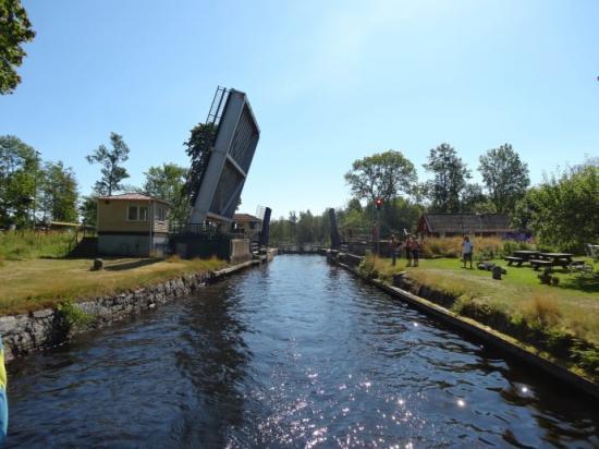 Göta kanal, Forsvik slussområde.