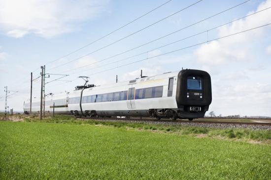 Från och med den 8 juni tågen i 20-minuterstrafik över Öresundsbron.