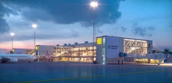 Byggstart för Göteborg Landvetter Airport.