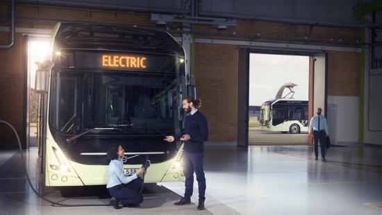 <span>Elbuss av modellen Volvo 7900 Hybrid har bland annat beställts av STIB-MIVB, som ansvarar för kollektivtrafiken i Bryssel.</span>