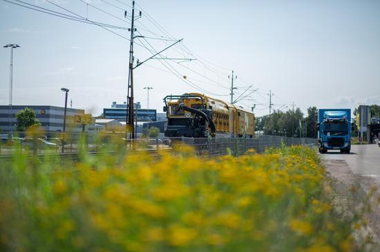 Bild från första MPV jobbet, Karlstad juli 2021.