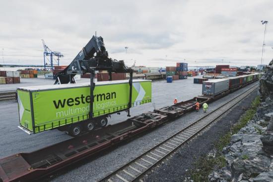 Westermans nya intermodala direkttrafik mellan Venlo i Nederländerna och Norrköpings hamn har nu påbörjats. Den 4 september lossades det första tåget i hamnen.