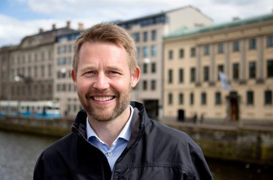 Per Österström, områdesansvarig för fordon & transport på Business Region Göteborg.