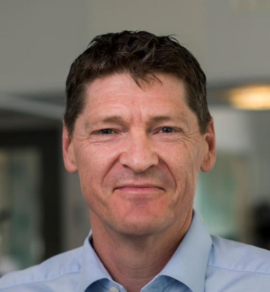 Erik Simonsen, senior utvecklingsledare på Cementas forsknings- och utvecklingsavdelning.