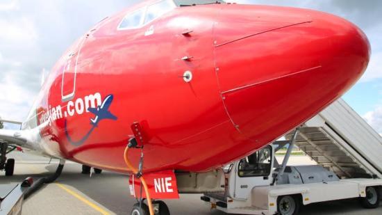 Norwegian Boeing 737-800.