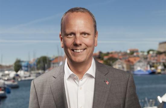 Jari Virtanen, Chief Transformation Officer på Stena Line.