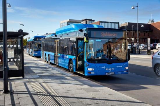 Större och bekvämare bussar på linje 1.