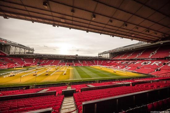 Old Trafford, som är Manchester Uniteds hemmaarena, kommer lite närmre Norden när SAS öppnar sin nya direktlinje mellan Stavanger och Manchester.