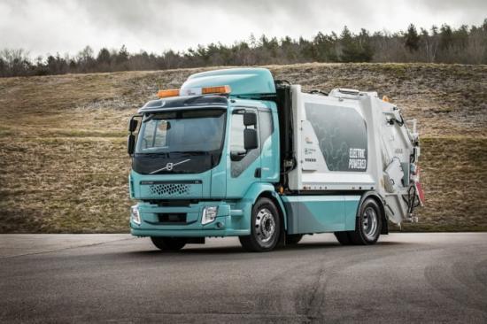 Så här ser den ut - den nya eldrivna sopbilen som i höst börjar rulla i centrala Göteborg.