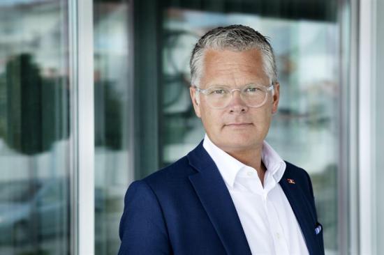 Niclas Mårtensson, VD för Stena Line och ledamot i Regeringens Elektrifieringskommission.