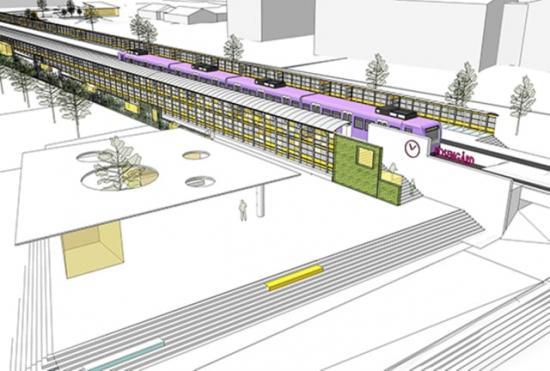 Nya Rosengård station i Malmö