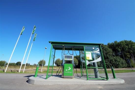 Bild: Svensk Biogas får klimatinvesteringsstöd för att bygga två mackar i Östergötland.