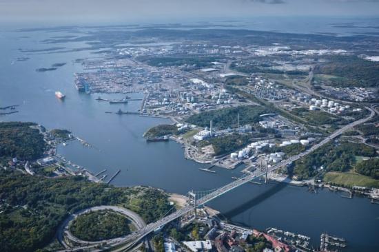 Många av de gröna innovationer som lyfts i OECD:s rapport härstammar från många av de aktörer som utgör Göteborgs hamns hamnkluster.