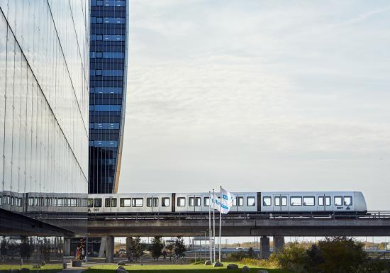 Köpenhamns metro.