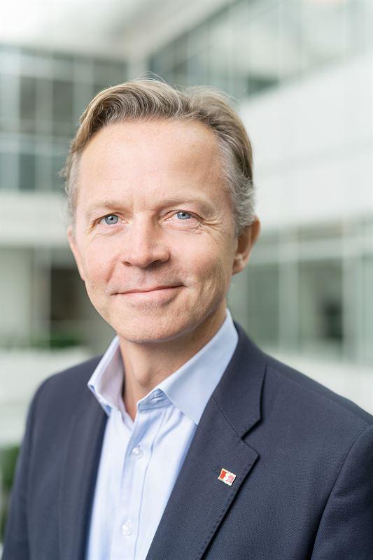 Erik Lewenhaupt, Hållbarhets- och kommunikationschef på Stena Line.