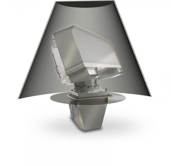 Antenn i Saabs marina radarsystem Sea Giraffe AMB.
