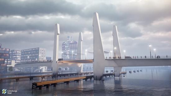 Hisingsbron ska stå klar år 2021 och blir då den nya länken i Göteborg mellan Hisingen och fastlandet.