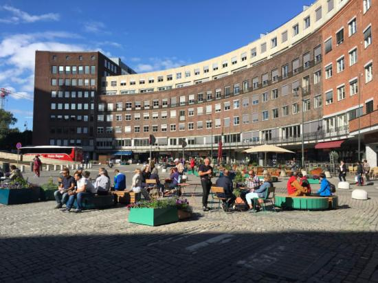 Sweco utvärderar resultatet och effekter av ett bilfritt centrum i Oslo.