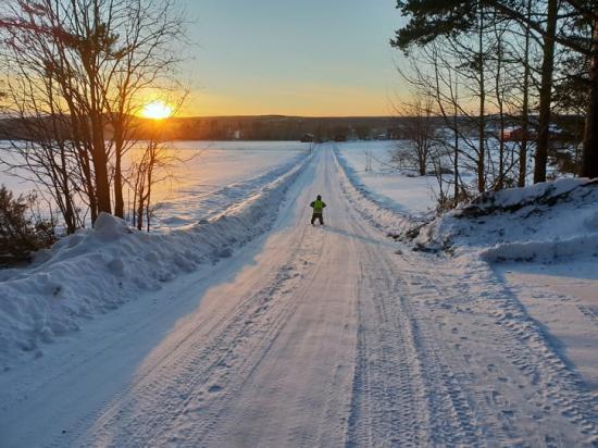 Det finns cirka 80 enskilda vägar idag i Piteå kommun som endast har kommunalt bidrag.