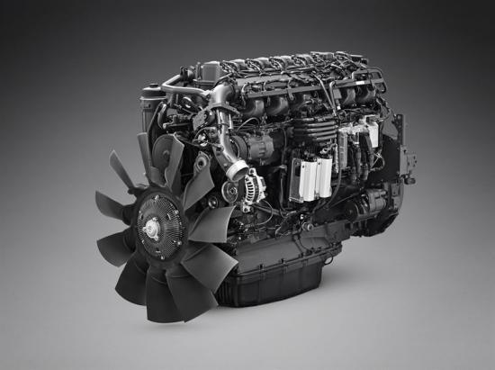 Scanias nya13-liter gasmotor presenteras för första gången på den Italienska hållbarhetsmässan Ecomondo.