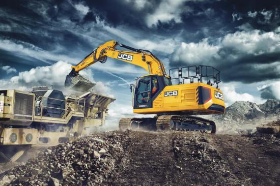 JCB 220X kombinerar komfort, prestanda och produktivitet.