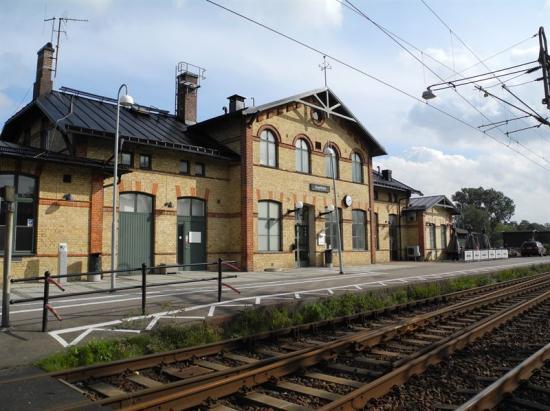 Ängelholms station.