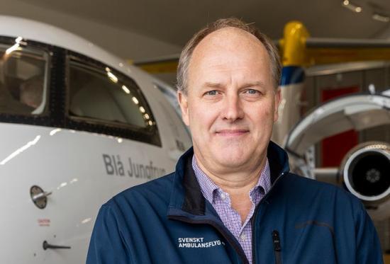 Fredrik Lambeck, Accountable Manager, Svenskt Ambulansflyg.
