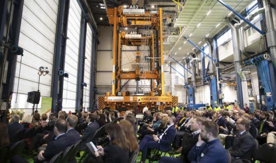 170 personer från det svenska näringslivet deltog i APM Terminals Gothenburgs lansering av klimatinitiativet Green Gothenburg Gateway.