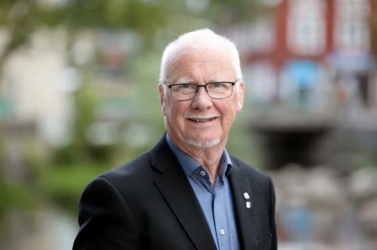 Anders Olander (C), kommunstyrelsens 1:e vice ordförande.