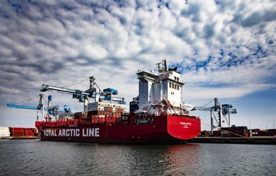 Helsingborgs Hamn har ambitionen att bli helt fossilfri.