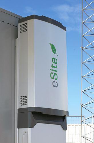 Flexenclosure eSite x10 kraftregleringssystem för basstationer och telekom-master.