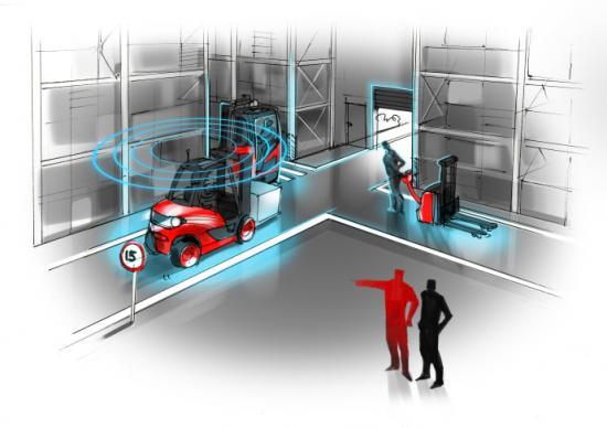 Linde Material Handling lanserar funktionen Zone Intelligence.