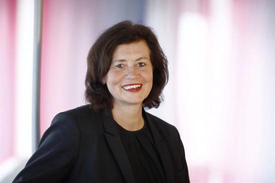 Ann Persson Grivas, LFV:s generaldirektör.