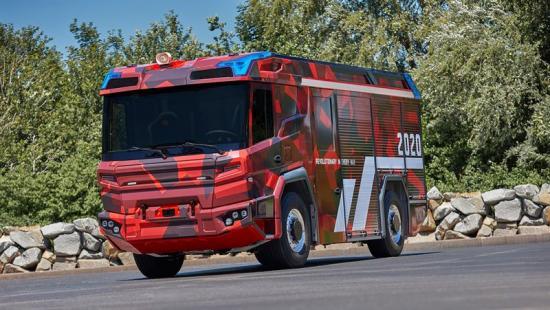 <span><span>Den Volvo Penta-drivna brandbilen kommer att hjälpa brandkårer i städer runtom i världen att minska deras bränslekostnader och förbättra deras personsäkerhet och funktionalitet. </span></span>