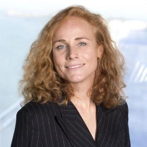 Elisabeth Lönne, ansvarig för Stena Lines Danmarkslinjer.