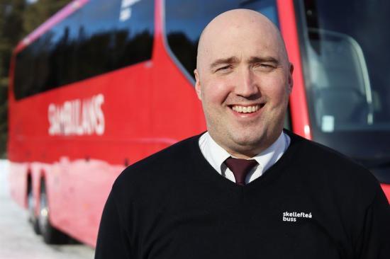 Kristoffer Hedenström, trafikchefSkellefteå buss.