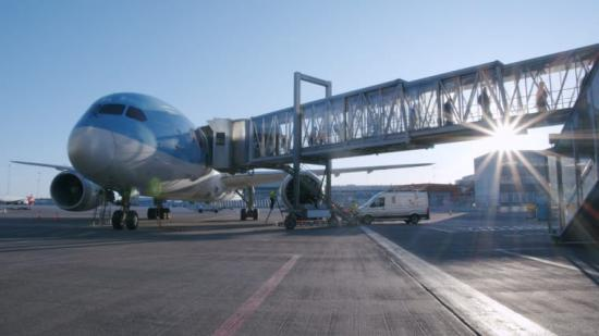 TUIs sista flight från Mexiko landar på Arlanda.